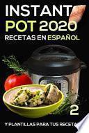 Instant pot Recetas en español 2020