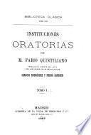 Instituciones oratorias