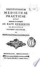 Institutionum medicinae practicae