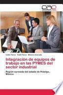 Integración de equipos de trabajo en las PYMES del sector industrial