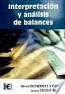 Interpretación y análisis de balances