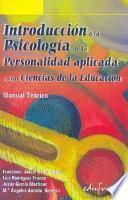 Introducción a la psicología de la personalidad aplicada a las ciencias de la educación