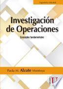 Investigación de operaciones. Conceptos fundamentales