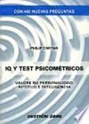 IQ y tests psicométricos