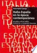 Italia-España en la época contemporánea