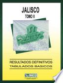 Jalisco. Conteo de Población y Vivienda, 1995. Resultados definitivos. Tabulados básicos. Tomo II