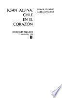 Joan Alsina, Chile en el corazón
