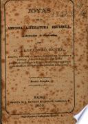 Joyas de la antigua literatura española