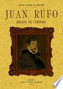 Juan Rufo, jurado de Córdoba. Estudio biográfico y crítico