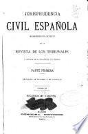 Jurisprudencia civil española