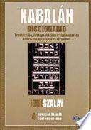 Kabaláh diccionario
