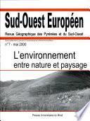 L'environnement entre nature et paysage
