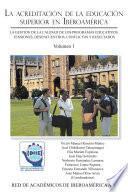 La acreditación de la educación superior en Iberoamérica