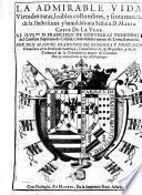 La admirable Vida y virtudes de Dña María Gasca de la Vega