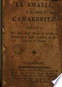 La Amalia ó Ilustre camarerita