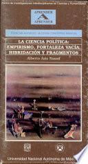 La ciencia política empirismo, fortaleza vacía, hibridación y fragmentos