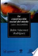 La construcción social del miedo