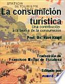 La consumición turística