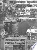 La Costa Caribe Nicaragüense en los diarios nacionales 2001