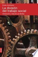 La división del trabajo social