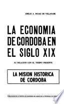 La economía de Córdoba en el siglo XIX
