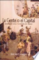La gente o el capital