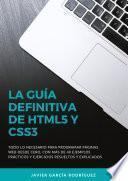 La guía definitiva de HTML5 y CSS3
