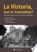 La Historia, lost in translation?