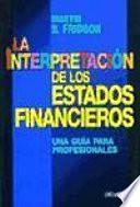 La Interpretación de Los Estados Financieros