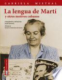 La lengua de Martí y otros motivos cubanos