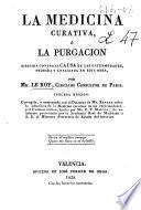 La medicina curativa o la purgación
