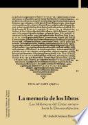 La memoria de los libros. Las bibliotecas del Císter navarro hasta la Desamortización
