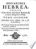 La Monarchia Hebrea
