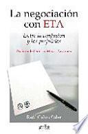 La negociación con ETA