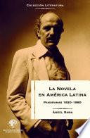 La novela en América Latina: Panoramas 1920-1980