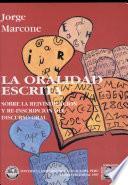 La oralidad escrita
