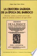 La oratoria sagrada de la época del barroco