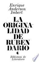 La originalidad de Ruben Darío