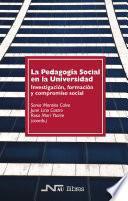 La Pedagogía Social en la Universidad