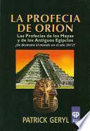 La profecia de Orion