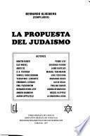 La propuesta del judaísmo