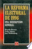 La reforma electoral de 1996