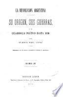 La revolucion argentina