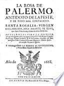 La Rosa de Palermo, antidoto de la peste y de todo mal contagioso