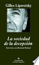 La sociedad de la decepción