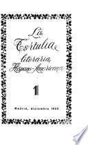 La Tertulia literaria hispano-americana