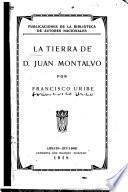 La tierra de D. Juan Montalvo