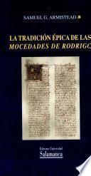 La tradición épica de las Mocedades de Rodrigo