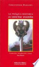 La Tragica Historia del Doctor Fausto