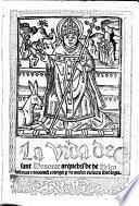 La vida de Sant Honorat Arquebisbe de Arles